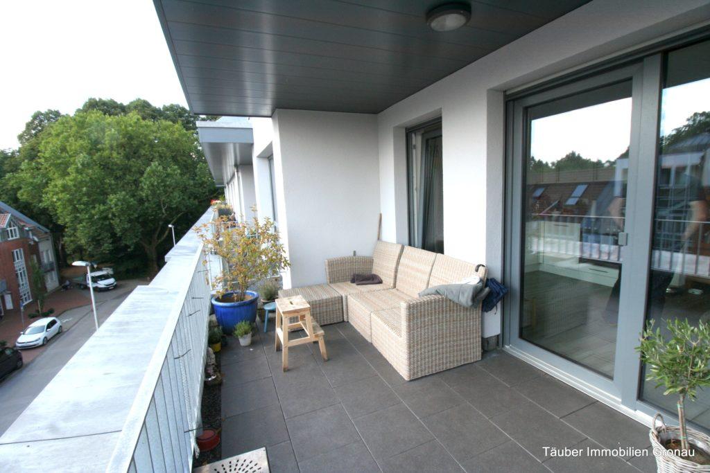 Penthousewohnung mit Terrasse und fantastischem Blick über Epe